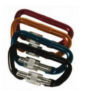 Faders – Carabiner Accessory Screw Gate 8mm