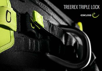 Edelrid TREEREX TRIPLE LOCK